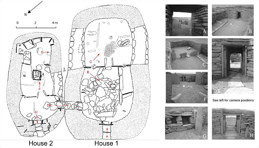Figure 2 The Architectural Repertoire Of Early Neolithic Buildings In Orkney As Exemplified By Knap Howar Image Copyright Giles Carey