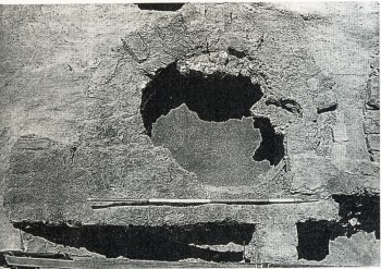 Fig.3: Top view of Kiln 3 in Amarna, Egypt (Forbes R. J. 1966).