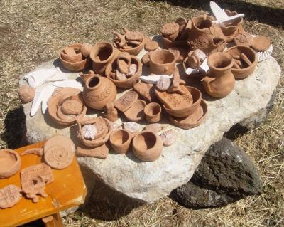 Figure 1. Pottery produced from kiln (Photo credit: Author)
