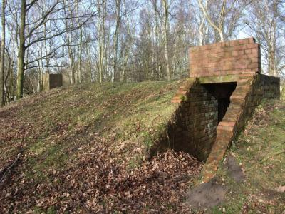 Figure 3 - Air raid shelter (Image Copyright - Mark Simpson)