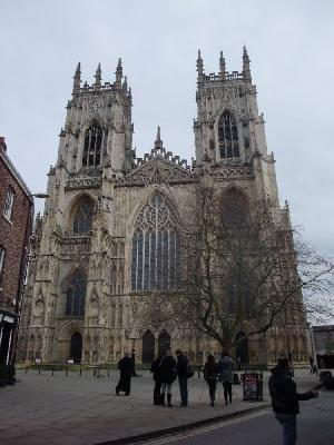 Figure 1 - York Minster, west front. (Image Copyright - Mark Simpson)