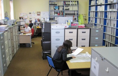 The Humber SMR office at work (Image Copyright: Katharine Newman)