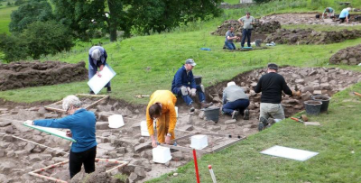 Figure 2: A community excavation run by the Swaledale and Arkengarthdale Archaeology Group during the 2012 Festival of Archaeology (Reproduced with kind permission of Swaledale and Arkengarthdale Archaeology Group)