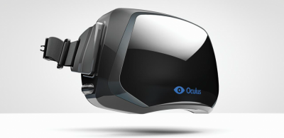 Figure 2: A promotional image of the Oculus Rift headset unit; the final product may look different from what is pictured here (Produced with kind permission of Oculus VR)
