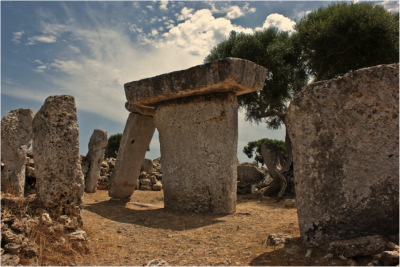 Number 2: Taula situated at Talati De Dalt in Menorca, a village occupied until about 300AD. Photographer: Pete Moore (77 points)