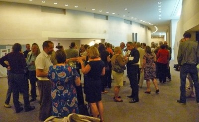 Figure 1. The British Archaeology Awards drinks reception at the British Museum (Image Copyright: D. Atloft).