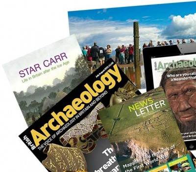 Figure 2. British Archaeology Pack (Image Copyright: Council of British Archaeology, 2014).