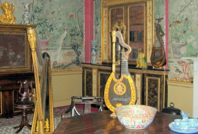 The Chinese Drawing Room at Temple Newsam (credit: author)