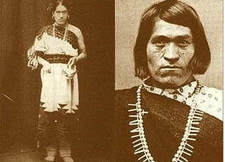 "Figure 6. Photographs of We-Wah, from.New Mexico, who was born biologically male but lived as a Two Spirit woman (Photograph by Zuleyka Zevallos). 'Two Spirit' is a western term, but one that describes the idea of the individual taking on the sex, gender, role and dress of the opposite sex (Gilchrist 1999, 61). Fulton and Anderson propose that the two spirit way of life is ""a sacerdotal role, an intermediary between the two sexes, between the living and the dead, and between the gods and humanity"" (Gilchrist 1999, 62)."