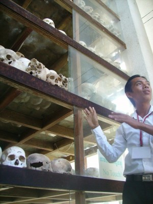 Cover Photo: A photograph of the victims of Pol Pot's totalitarian regime at the Choeung Ek Killing Fields memorial park, Phnom Penh, Cambodia. (Authors Own 2007).
