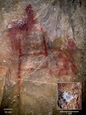Figure 3: Abstract Neanderthal art at La Pasiega (Hoffmann et al. 2018b).