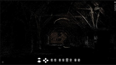 Photosynth produced point cloud of the Great Titcheld tithe barn. Credit: Synth by Richard Haddlesey (http://tinyurl.com/qs8w4q)