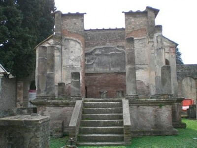 The Temple of Isis, Pompeii.