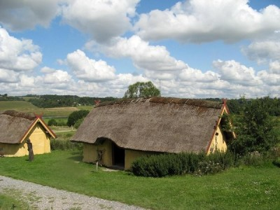 Reconstruction of a Viking Age Farm (credit: author)