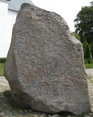 Rune Stone of Jelling (credit: author)